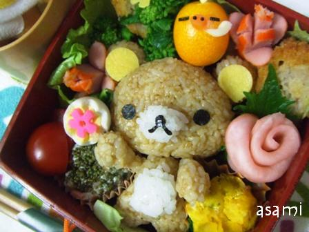 Rilakkuma Food-Charaben-The Cutest Bento