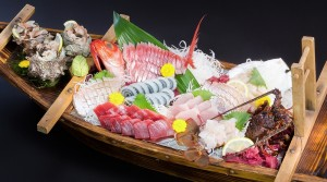 日本 豐盛 生魚片 好吃