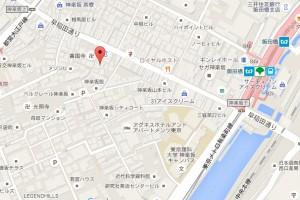 寿司アカデミー地図