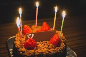 慶祝 日本 友人 阿娜答 生日